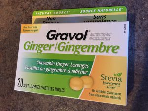Chewable Non-Drowsy Ginger Gravol