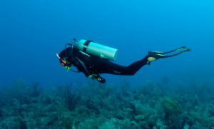 Diver Neutral Buoyancy