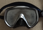 Fogged Dive Mask