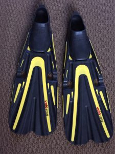 Open Pocket Paddle Dive Fins