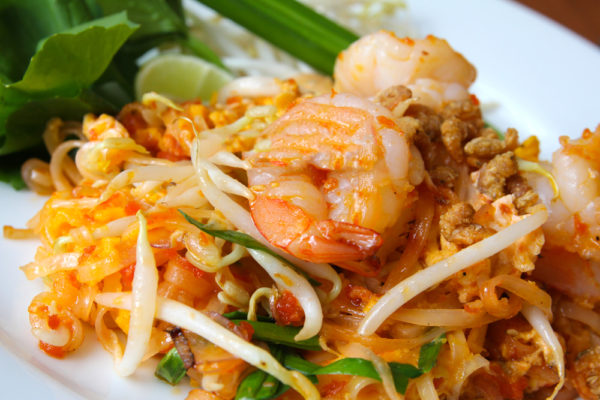 Yummy Thai Food Stir Fried Noodles