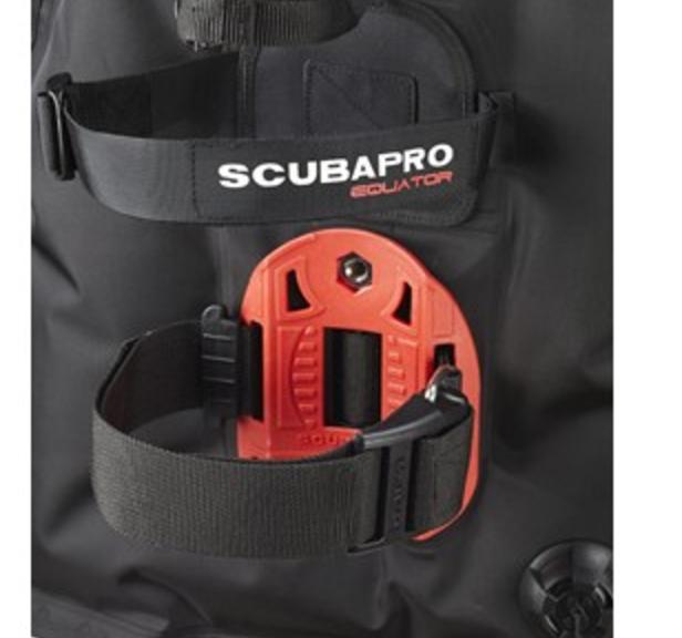 Scubapro Equator Travel Light BCD Backplate