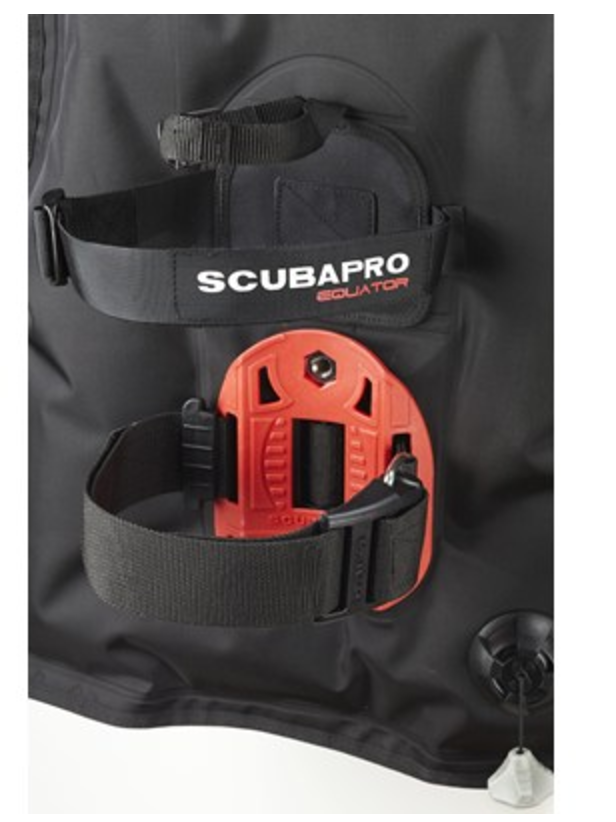 Scubapro Equator Travel Light BCD Backplate