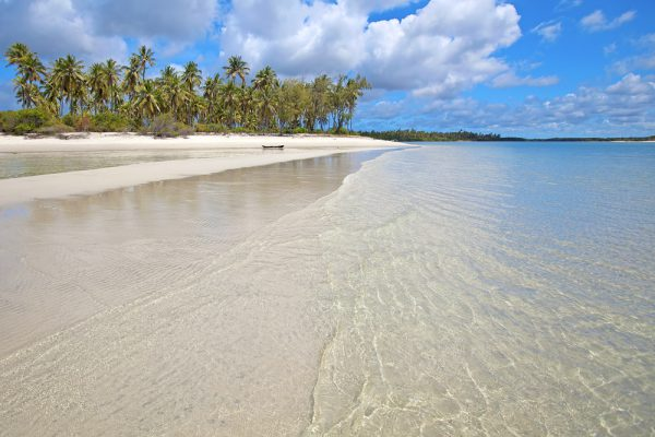 Tanzania Mafia Island Long White Beach