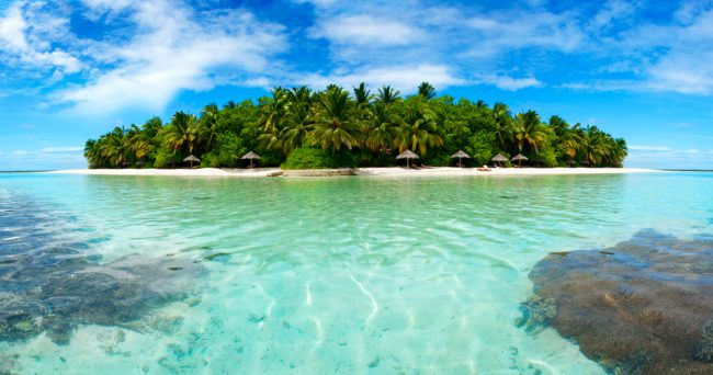 Atoll In The Maldives