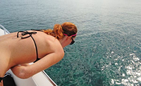 Woman Experiencing Seasickness