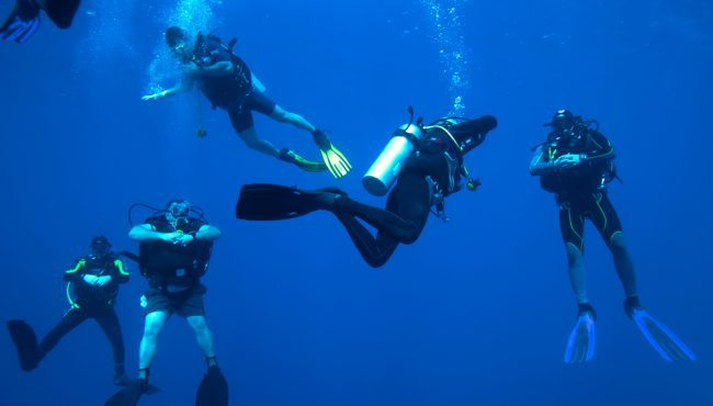 Divers 5 Minute Safety Stop