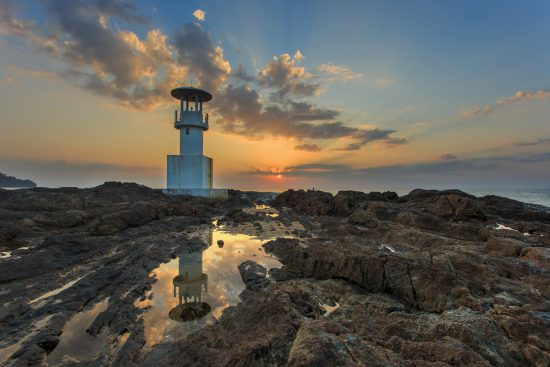 Lighthouse in Khao Lak Thailand