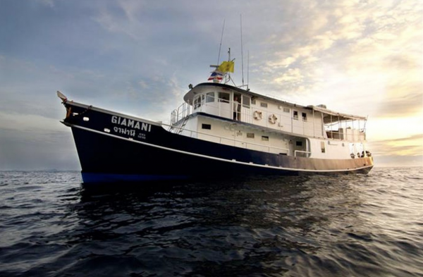 MV Giamani Liveaboard Thailand