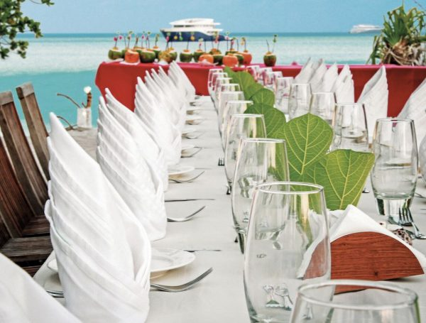 Wedding Reception on the Ying and Yang Liveaboards